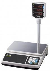 Торговые весы серии CAS PR-P (со стойкой)