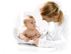 Детские весы с функцией беспроводной связи SECA-374