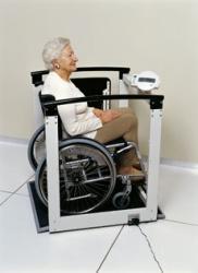 Медицинские весы SECA-684 (взвешивание стоя, сидя, в инвалидном кресле)