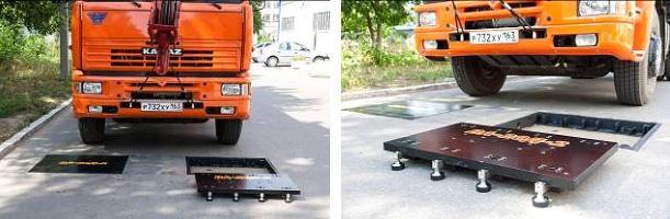 Портативные автомобильные весы ВА-20Д-2