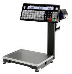 Весы с термопечатью серии ВПМ-Т с отделительной пластиной