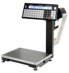 Весы с термопечатью серии ВПМ-Т с устройством подмотки ленты