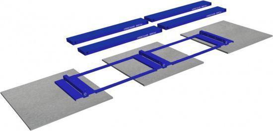 Модульная конструкция весов ВСА