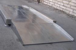 Платформа с пандусами из нержавеющей стали для весов ВСП-4Н