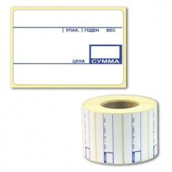 Этикет-лента (58х30, 58х40, 58х60) PP