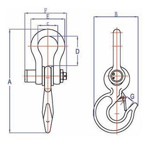характеристики электронных крановых весов ВЭК -Д